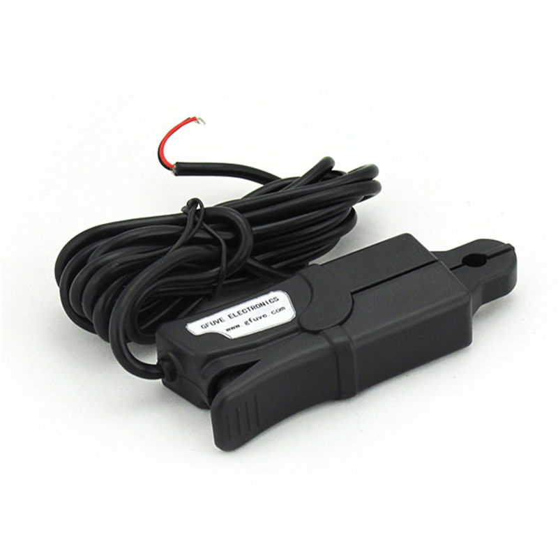 GFUVE Low Current Automotive Amp Clamp on Current Transformer Ratio 10A / 10mA PQA- Friendly Shape
